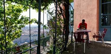 Liste des auberges de jeunesse à Lyon - France.
